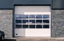 garageport med dør